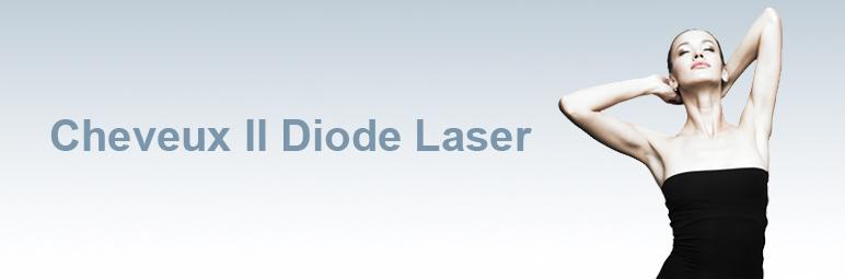 Cheveux faciaux au laser